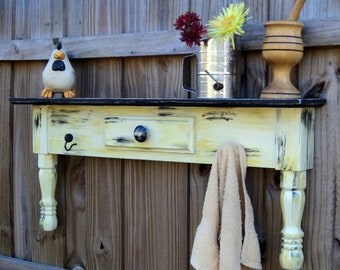 Farmhouse Style Headboard, Window Cornice, Towel Bar Or Coat Rack, You Choose Color