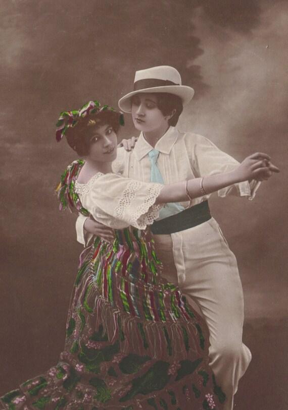Les Dambrey Dance the Matchiche circa 1910