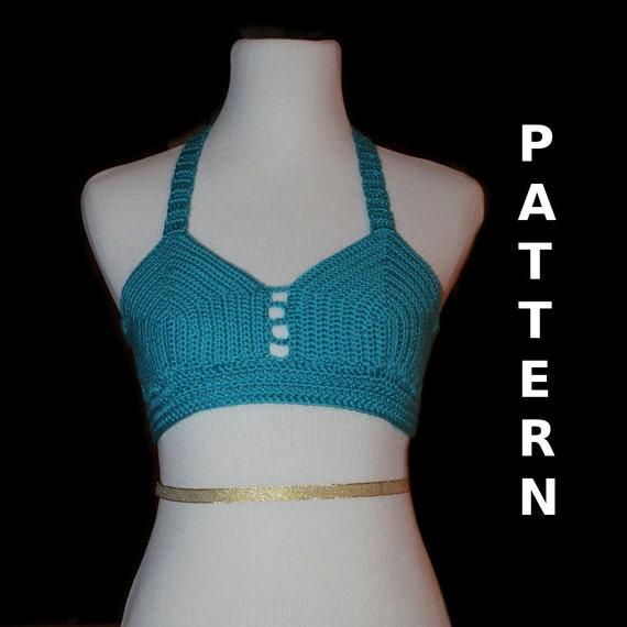 Crochet Pattern - Bikini Top - Adult Small / Medium