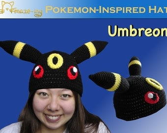 Amaze-ing Umbreon-Inspired Hat - Made to Order