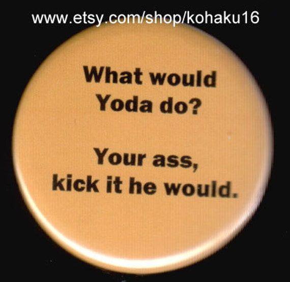 Yoda Is Awesome Button