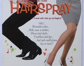 "Rare ""Hairspray"" Vinyl Soundtrack (1988) John Waters - Excellent Condition"