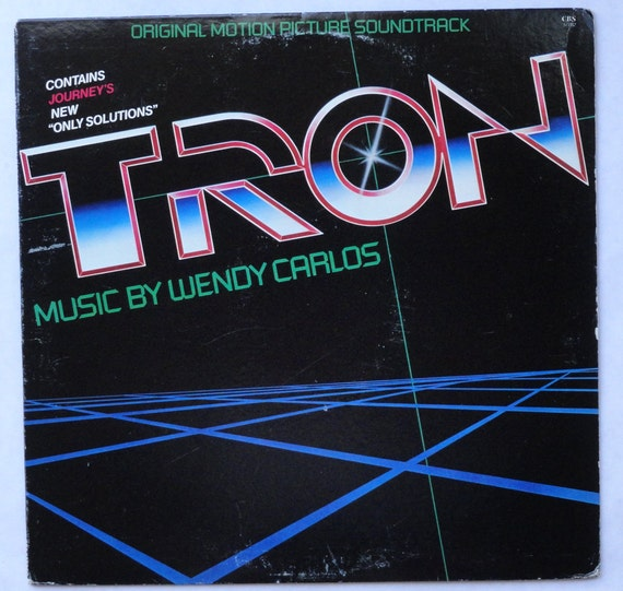 "Rare ""Tron"" Vinyl Soundtrack (1982) - Very Good Condition"