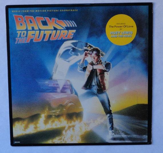 "Rare ""Back to the Future"" Vinyl Soundtrack (1985) - Excellent Condition"