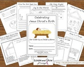 Celebrating Jesus Christ's Birth Activity and Drawing Book for Children