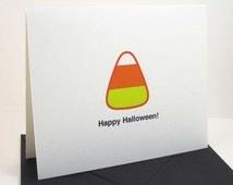Halloween Cards / Candy Corn / Happy Halloween
