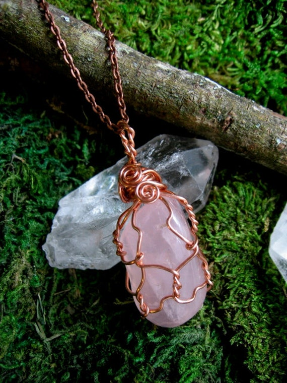 Rose Quartz Amulet