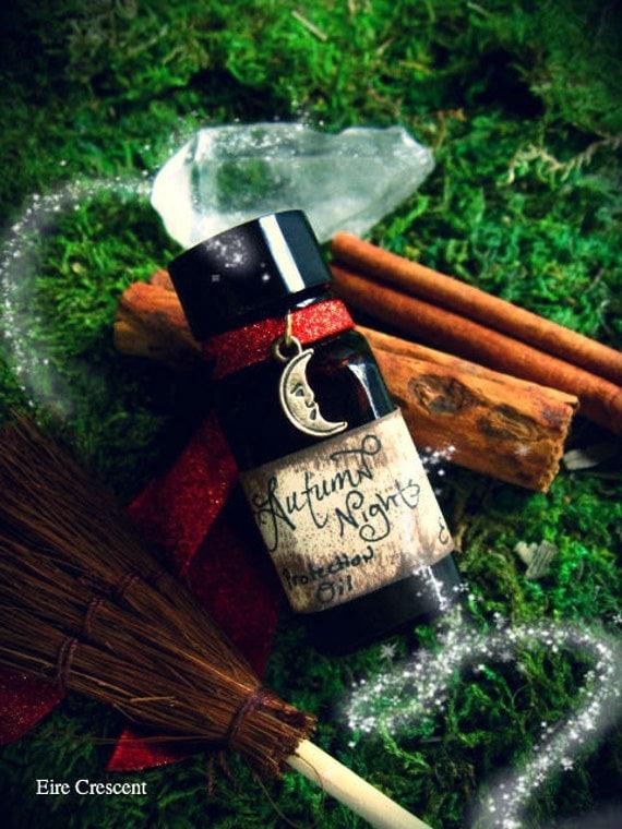 Autumn Nights- Ritual Perfume Protection Oil