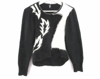 80's Cropped Graphic sweater size - S/M