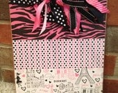 Paris Themed Clipboard