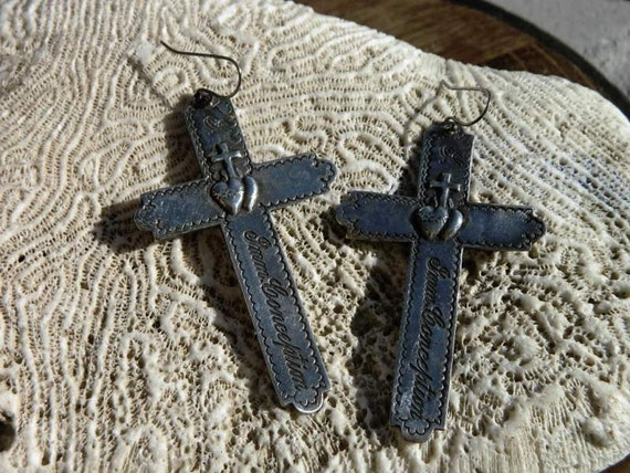 Rsv for S-Sainte Immaculate Conception French Nun Earrings