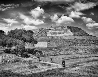 Mexico - Pyramid of the Flowers - Fine Art Photograph 5x7 8x10 11x14 16x20 24x30