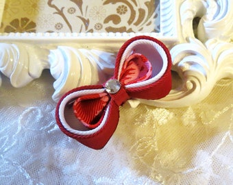 Baby Hairclip Kanzashi Bow clip
