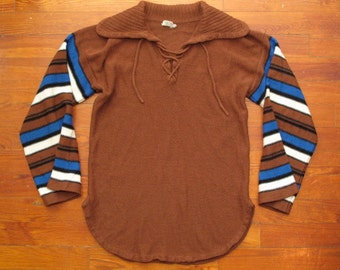 women's vintage 70s sweater.