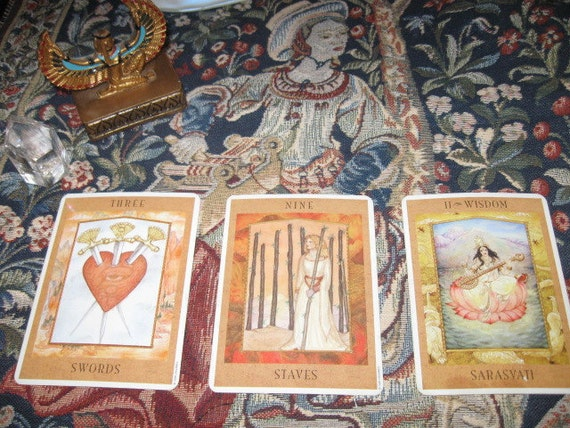 Weekly 3 Card Spread-excellent value-Amazing-Choice Spread-Any- EmAiL rEaDiNg