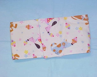 Male Dog Belly Band Pet Diaper Wrap  Doggie Britches Pants Cupcake Doggie Custom Sizes To 22 Inches