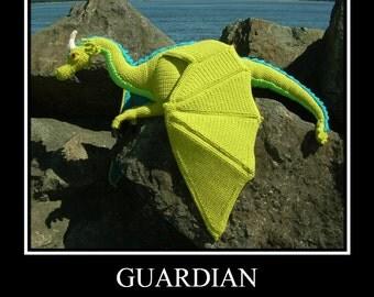 Guardian the Dragon PDF Crochet Pattern by CreationsByGems