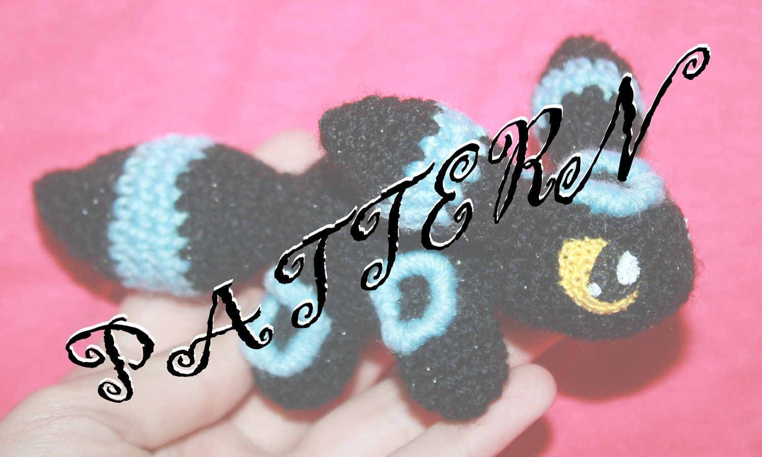 PATTERN CROCHET: Umbreon Teenie Beanie by SoapyBacon on Etsy