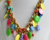 Colorful, Fun Fall Freedom Necklace