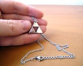 Legend of Zelda Triforce - Polished Stainless Steel