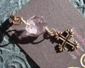 Charm Cross Pendant Attaches Anywhere