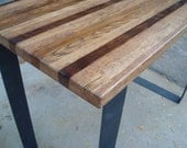 Steel Bar Table High Kitchen Table Pub Table