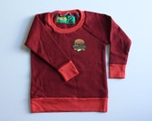 RED - Fleece Pullover Sweater - Size 2T