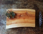 Cutting Board Serving Tray Rustic Birch Cheese Board Salvaged Wood