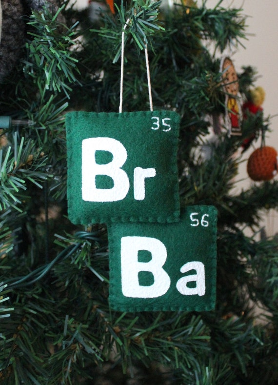 Breaking Bad Ornament READY TO SHIP