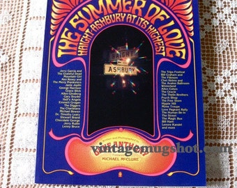 Summer of Love 1st edition Haight Ashbury Gene Anthony GRATEFUL  DEAD Excellent unused
