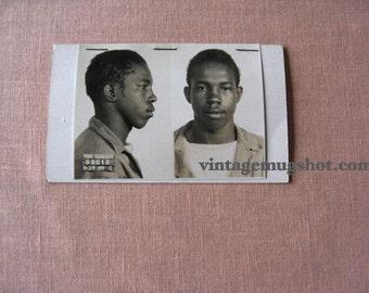 1949 San Francisco  Police Department Criminal MUG SHOT Teenager 17 City Prison