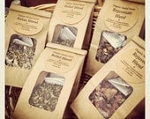 Organic Herbal Facial Steam, An Herbal Inhalation Treatment, A Blend of Organic herbs formulated to soothe and ease