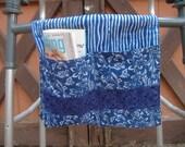 Handmade Blue Walker Bag