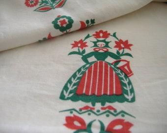 One Yard Waverly Folk Fabric
