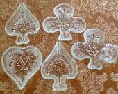 Ash Tray Tiara Indiana Glass Sandwich Glass Clear Coaster