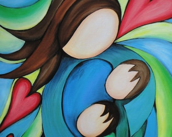 "8"" x 10"" Fine Art Giclee Print:  BLESSED"