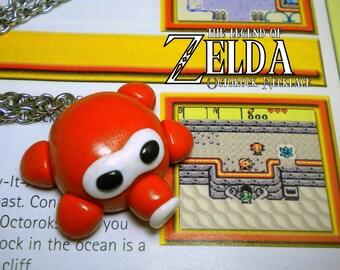 Octorok Necklace - Legend of Zelda - Nintendo