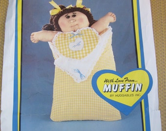 "Cuddle Kids Soft Sculpture Doll Kit Muffin  20"" Doll by Huggables"