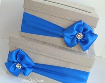 Card box for wedding custom gift card box