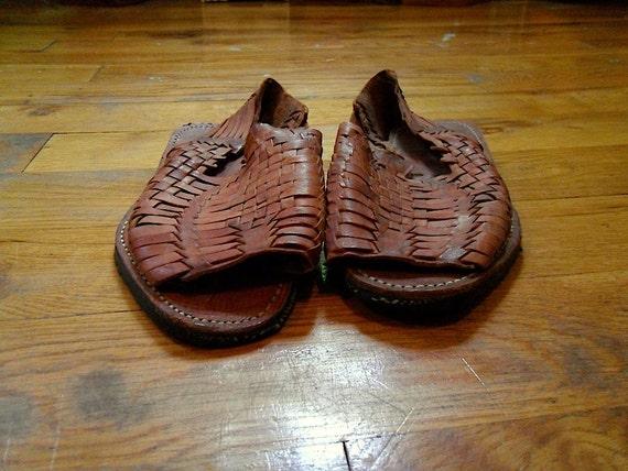 Vintage Huarache Sandals 9,7 (SALE)
