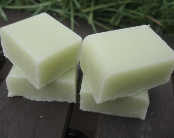 Peppermint Eucalyptus Sugar Scrub Cubes