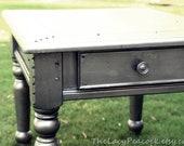 Restoration Hardware Inspired Zinc Side Table