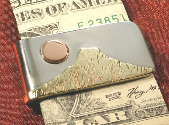 Metal Copper Money Clip MC26