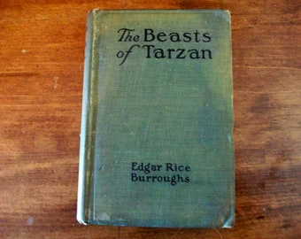 1916 The Beasts Of Tarzan