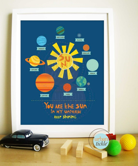 solar system nursery baby room - photo #15