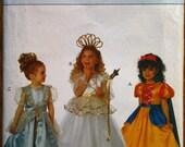 Butterick 6935 Girl's Princess Fairy Costume Sewing Pattern Disney Dress
