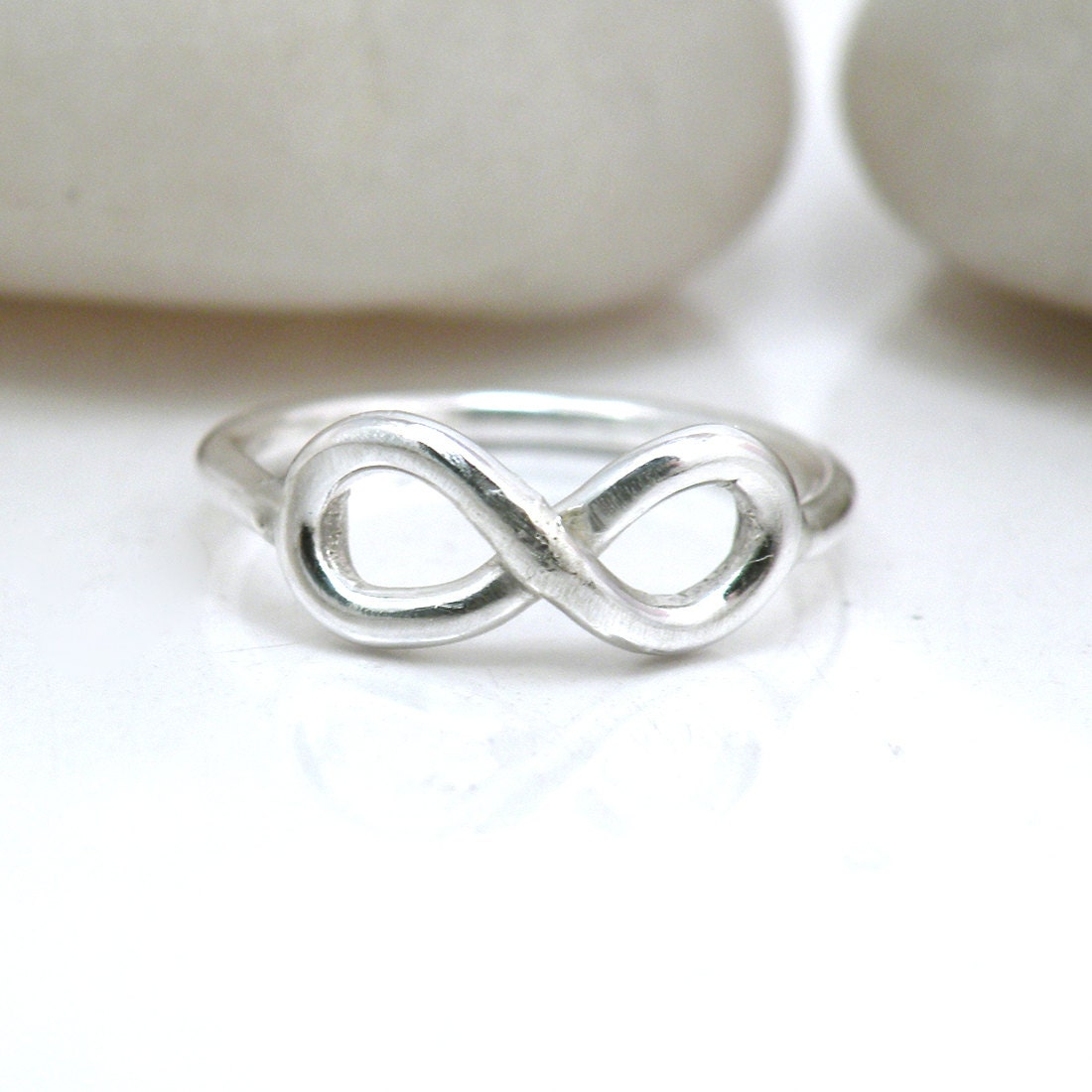 items similar to sterling silver infinity ring delicate