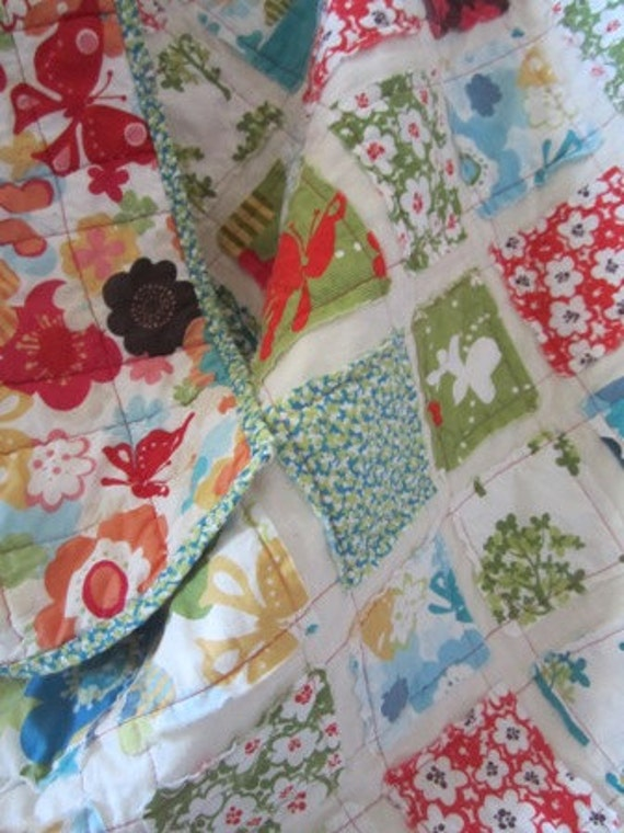 Just Wing It.........A Fray Edge Baby/ToddlerRag Quilt 39X46
