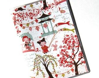PASSPORT COVER - Springtime in Japan