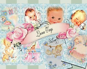 INSTANT DOWNLOAD Vintage Baby Boys  No.437 Personal Use Only